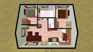 2 Bedroom House Plans With Storage