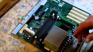 dell optiplex gx270 how to change the motherboard