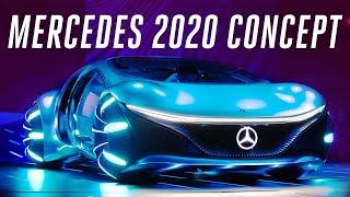 Mercedes-Benz Avatar car first look