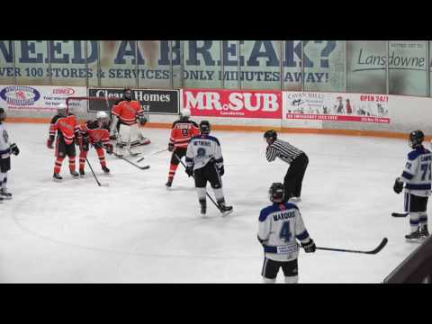 2017 01 20  CW vs  CENTRAL ONTARIO WOLVES  WIN 5 1