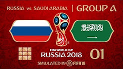FIFA 18 | Virtual World Cup 2018 Simulation