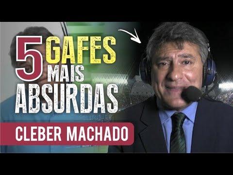 As 5 GAFES mais ABSURDAS de CLÉBER MACHADO