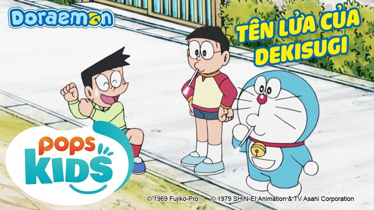 [S6] Doraemon Tập 284 – Đội Trưởng Nobita, Tên Lửa Của Thiên Tài Dekisugi – Hoạt Hình Tiếng Việt