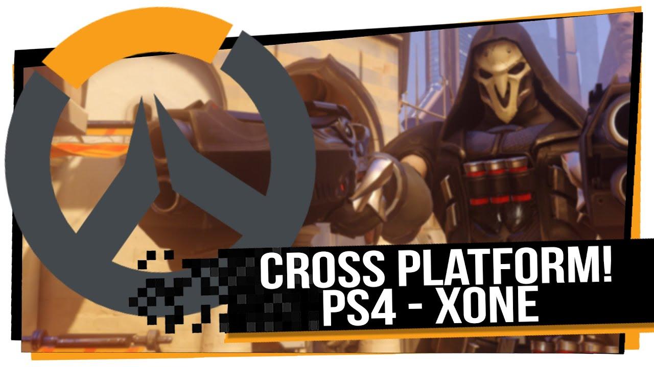 overwatch cross platform ps4 pc