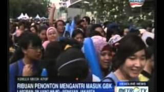 Jokowi akan Tonton Konser K-Pop di GBK