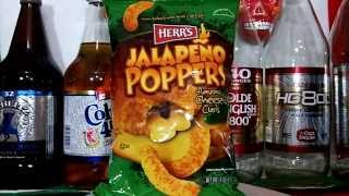 Herr's Jalapeño Poppers Cheese Curls Snack Review