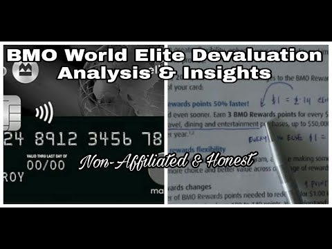 | BMO World Elite MasterCard Devaluation | Analysis & Insights | Non-Affiliated & Unbiased |