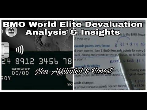 | BMO World Elite MasterCard Devaluation | Analysis & Insights | Non-Affiliated & Unbiased |