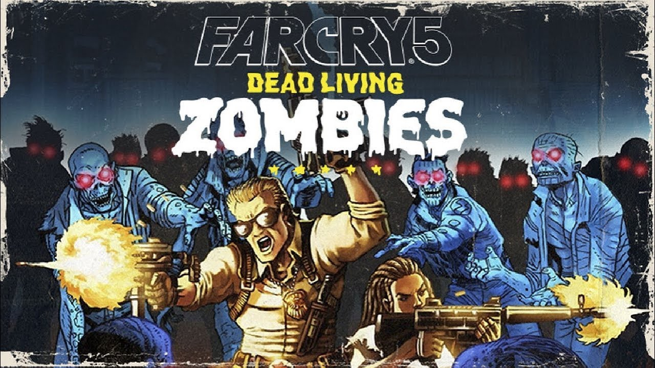 Twitch Livestream Far Cry 5 Dead Living Zombies Dlc Xbox One Youtube