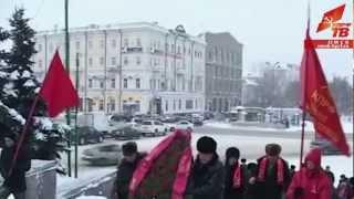 Омск: Возложение цветов к памятнику Ленину(, 2013-01-29T11:54:42.000Z)