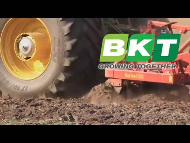 BKT AGRIMAX FORCE during harrowing