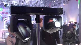 Showtec XS-2 Twin LED Moving Heads @ Musik Messe 2013 with www.getinthemix,com