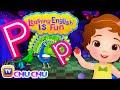 ChuChu TV Learning English Is Fun™ | Alphabet P Song | Phonics & Words For Preschool Children - JugniTV