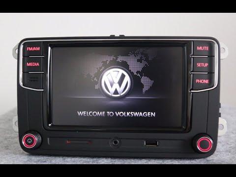 Установка Rcd330G Plus Desay в автомобиль VW Tiguan