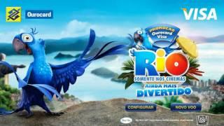 Virtual hang-gliding - Rio The Movie
