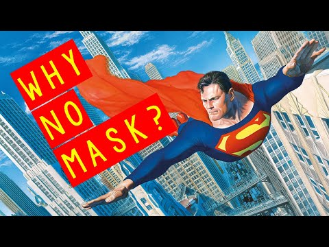 Why Superman Does Not Wear a Mask! | An Average Comic Book Channel