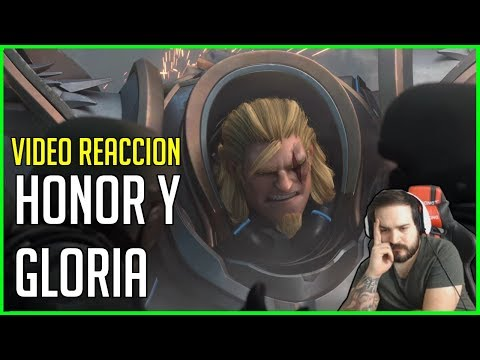 OVERWATCH: HONOR Y GLORIA | Video REACCION | ¿ La MEJOR CINEMATICA ? | AlphaPlays