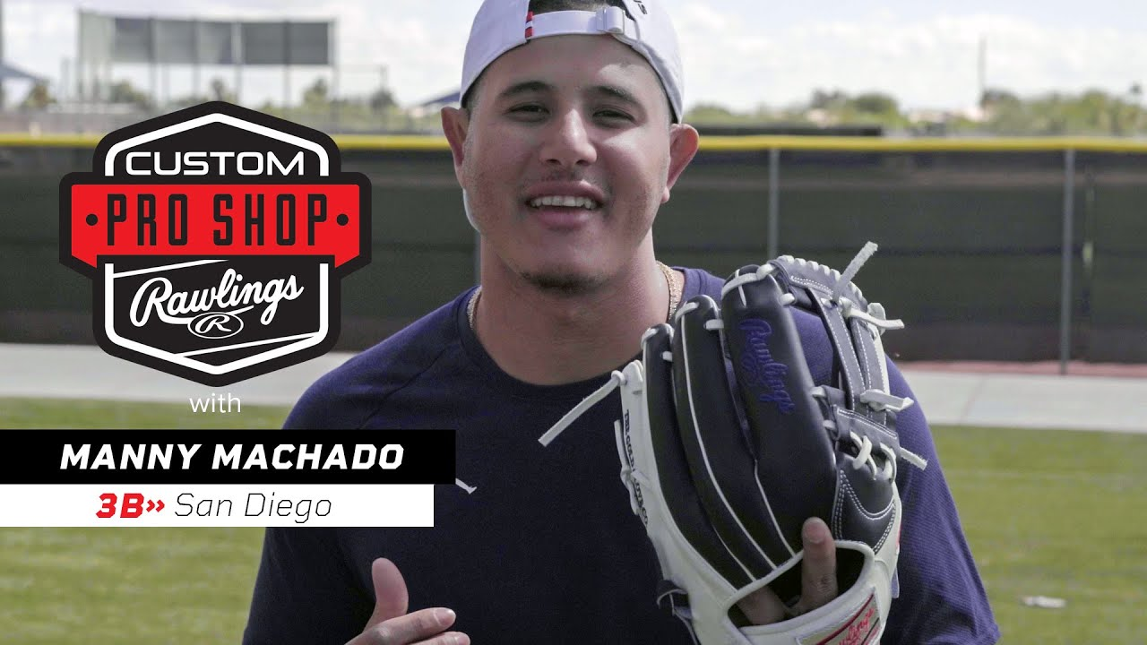 official photos 08bfd c8d3c Manny Machado Chats About His Rawlings Custom Gloves