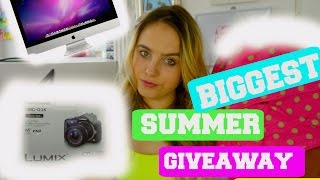 BIGGEST SUMMER GIVEAWAY! 2016 (CLOSED!)