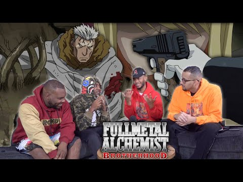 "Full Metal Alchemist Brotherhood Episode 38 ""Conflict At Baschool"" REACTION/REVIEW"