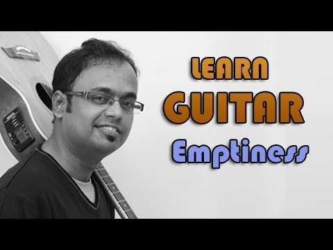 Emptiness Guitar Lesson  Rohan Rathore
