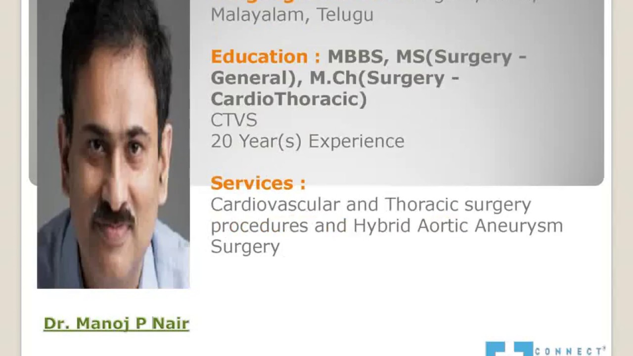 Connect2mydoctor : Famous Cardiologist Consultation Near Me in Bangalore