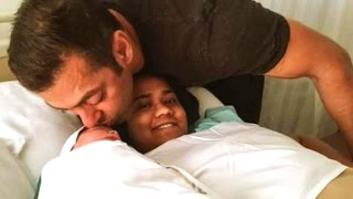 Salman Khan Becomes Mamu - Sister Arpita Khan Delivers Baby Boy