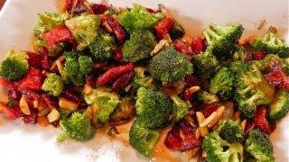 Potatoes Au Gratin With Asian Broccoli