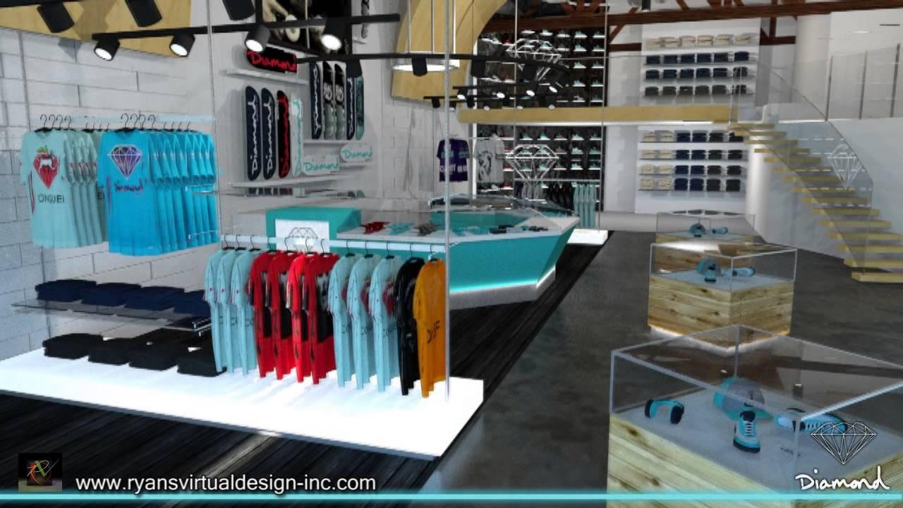 Diamond Supply, Co. Los Angeles Store - YouTube - photo#5