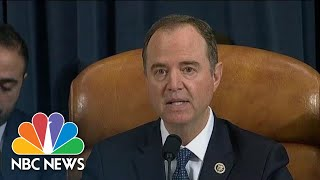 Schiff: Trump Put His 'Personal And Political Interests Above Those Of The Nation' | NBC News