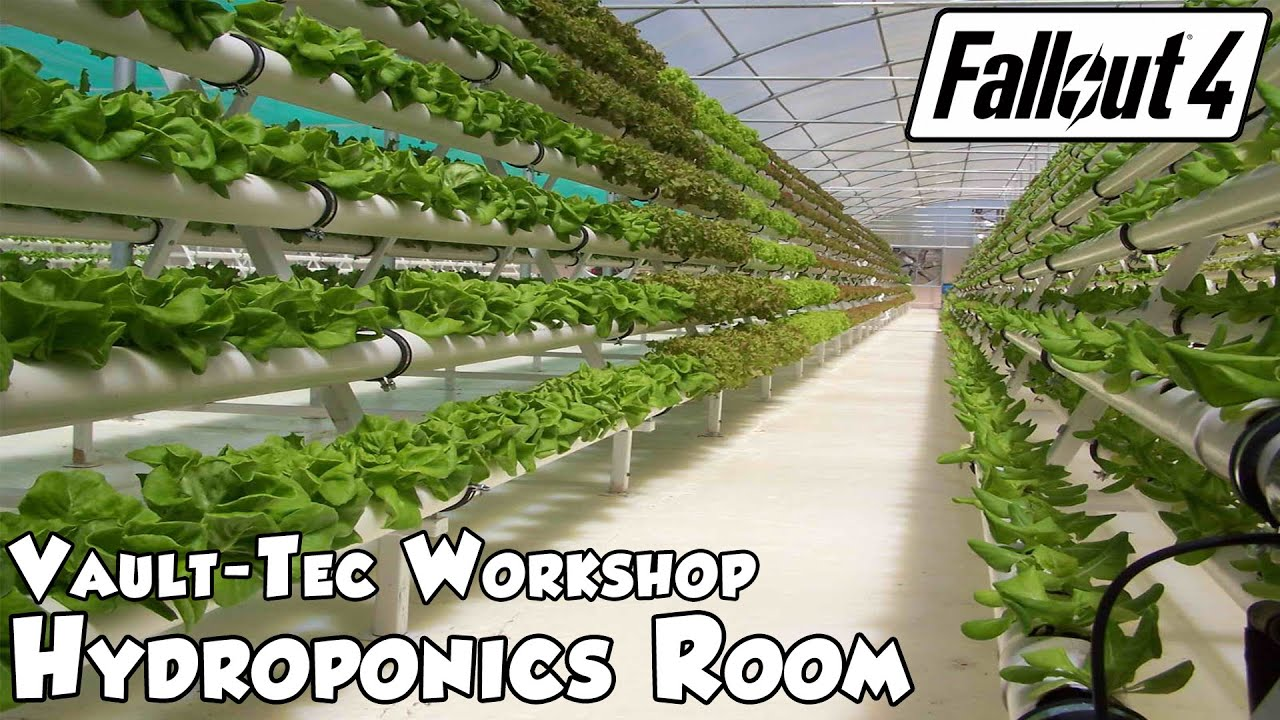 Fallout 4 Vault-Tec Workshop - Hydroponics Room