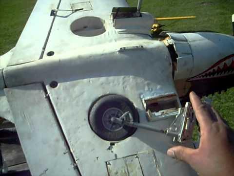 Top- Flite P-40 Warhawk   Minor Damage.....