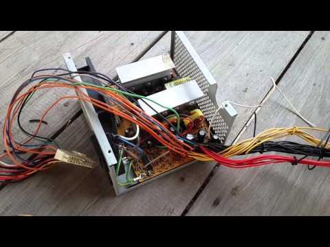 ดัดแปลง Power Supply computer เป็น switching