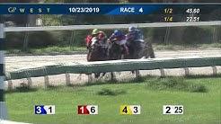 Gulfstream Park West October 23, 2019 Race 4