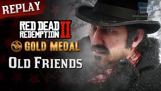 RDR2 PC - Mission #3 - Old Friends [Replay & Gold Medal]