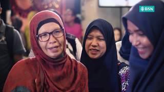 Air mata gembira ibu tumpah #RiuhkanRayaBSN