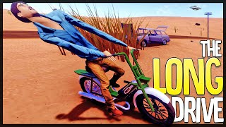 The Long Drive is a Totally Accurate Road Trip Simulator - NEW BIKE - The Long Drive
