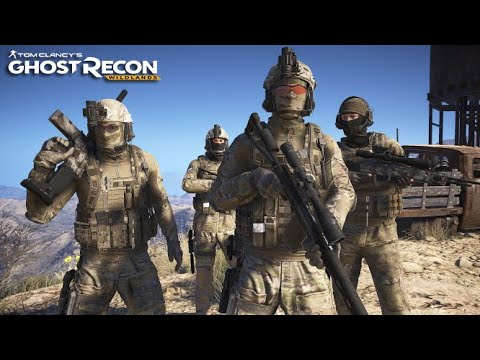4 SPETSNAZ OPERATORS ON A MISSION... HOLY MALCA BASE - Ghost Recon Wildlands [No HUD+Extreme] |
