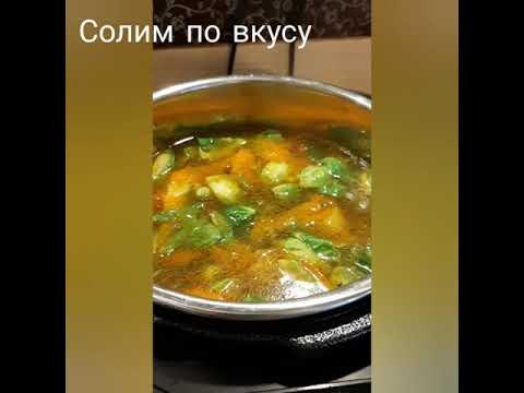 Суп из брюссельской капусты