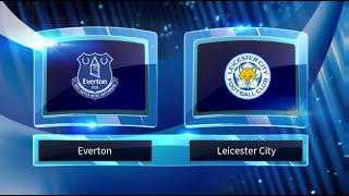 Everton Vs Leicester City Predictions And Match Preview Stats   Premier League 01/01/2019