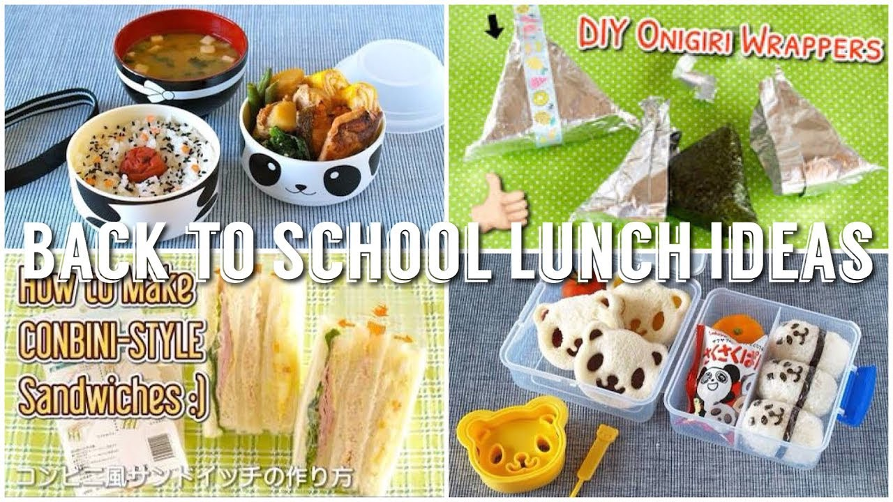 8 Back to School Lunch Ideas (Japanese Recipe Haul) | OCHIKERON | Create Eat Happy :)