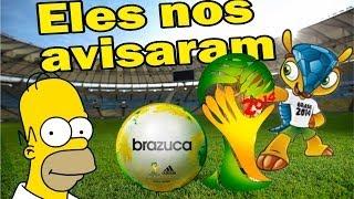 Eles nos avisaram, derrota do Brasil já era prevista, mensagens subliminar na copa do mundo.