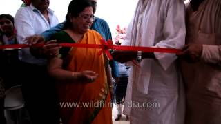 Inauguration of Mohini Read India Center in Bharatpur, Rajasthan