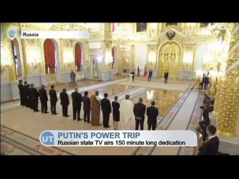 Putin's Power Trip: Russian state television airs 150 minute long dedication