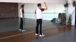 Janet Jackson Rhythm Nation Dance Tutorial Video Part 1/4