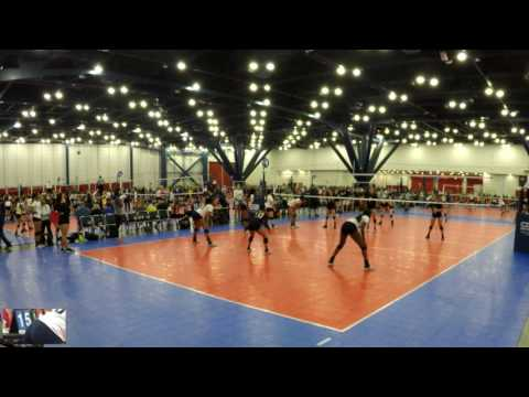2017 Cross Court Classic - Match #5 - HJV 17 Premier S vs. SA Force 172 National - Set 1 of 3