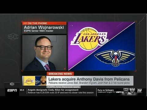 [BREAKING NEWS] Lakers acquire Anthony Davis from Pelicans | ESPN SC