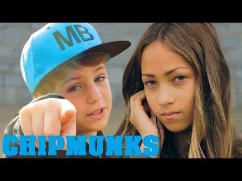 Gym Class Heroes - Stereo Hearts (MattyBRaps ft. Skylar Stecker Cover)(Chipmunks Version)