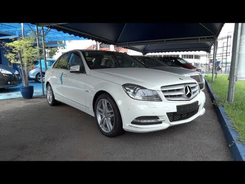 2012 Mercedes-Benz C 250 CGI Start-Up and Full Vehicle Tour
