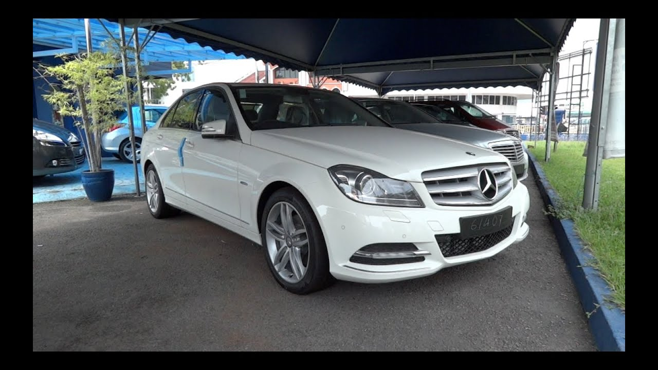 2012 mercedes benz c250 cgi start up and full vehicle tour for 2012 c250 mercedes benz